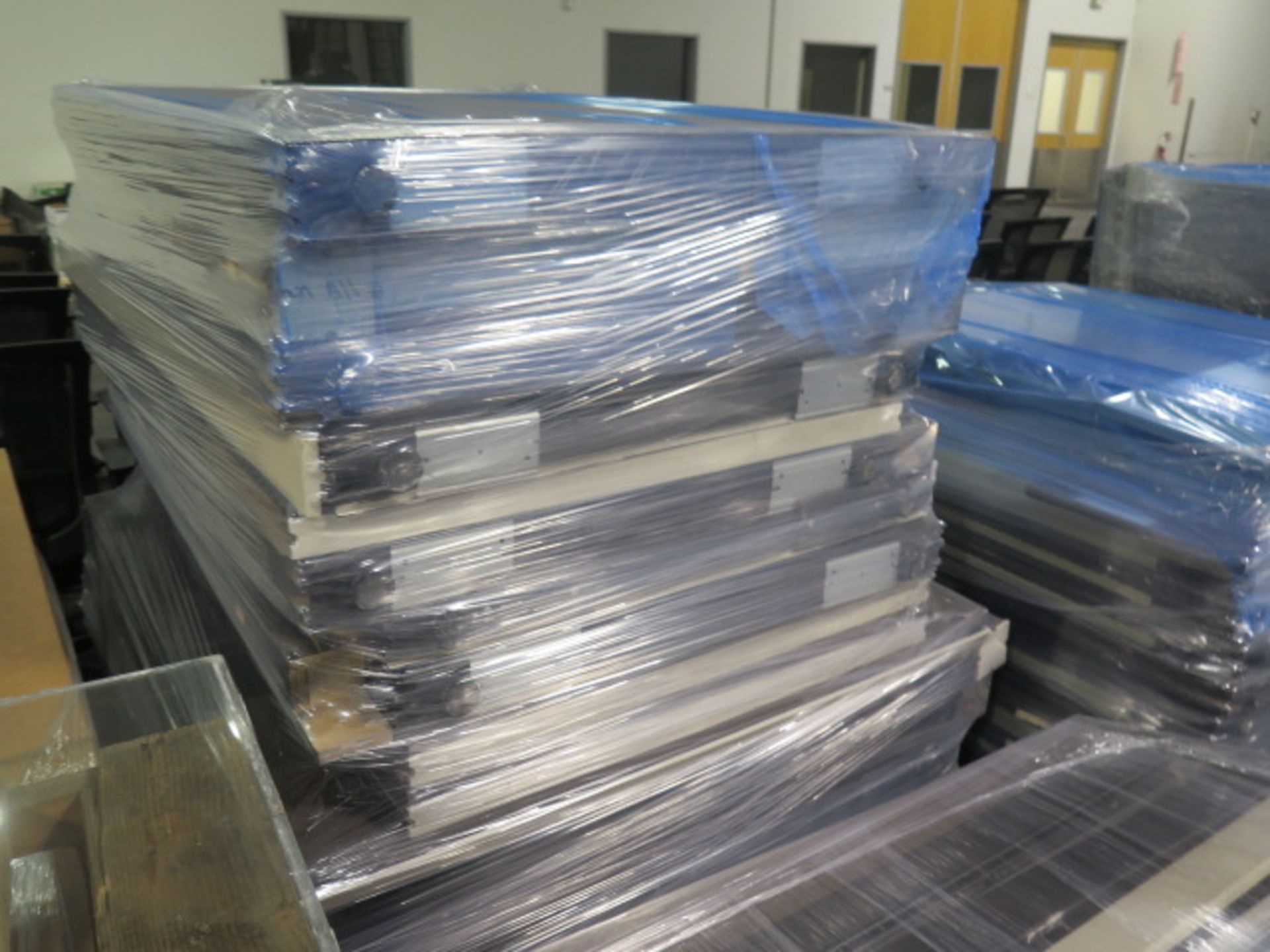 Large Quantity of Office Partitions, Desks, File Cabinets and Storage Cabinets (SOLD AS-IS - NO WARA - Image 20 of 24