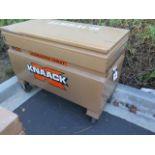 Knaack mdl. 4824 Rolling Job Box (SOLD AS-IS - NO WARRANTY)