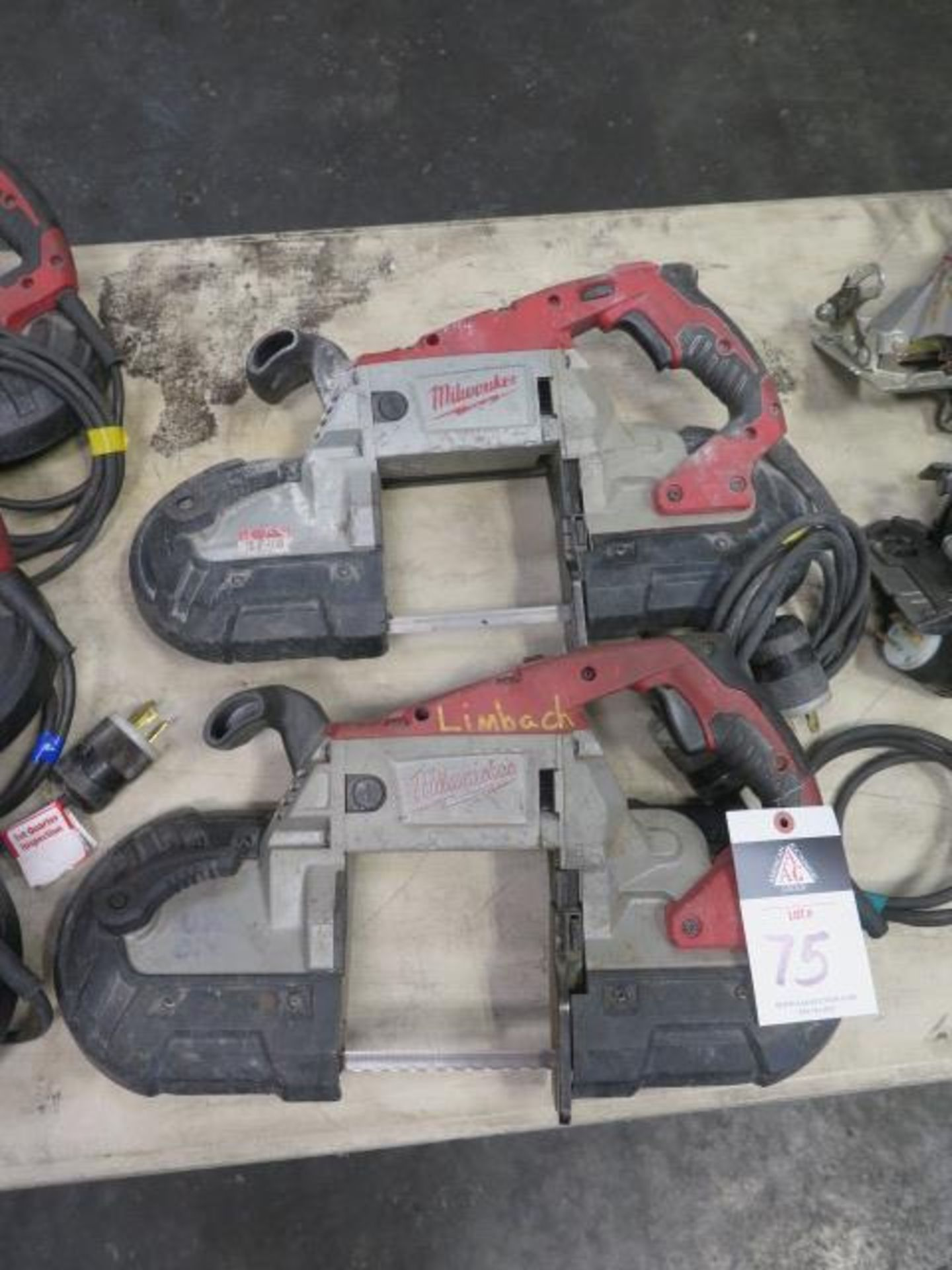 Milwaukee Deep Cut Band Saws (2) (SOLD AS-IS - NO WARRANTY)