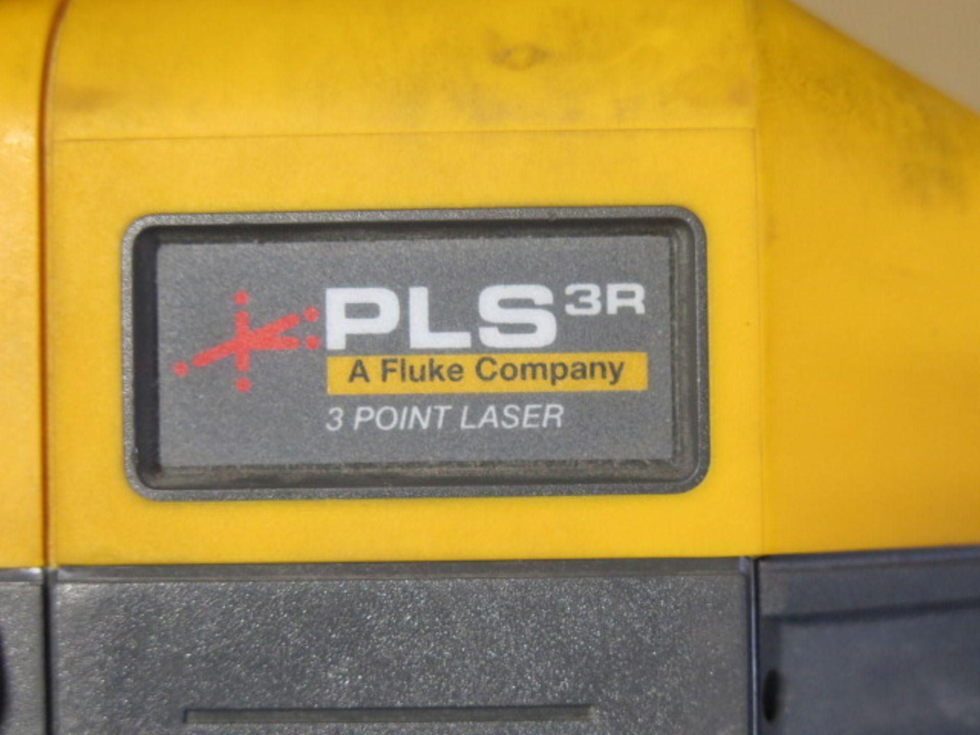 Fluke PLS 3R 3-Point Laser Levels (3) (SOLD AS-IS - NO WARRANTY) - Image 5 of 5