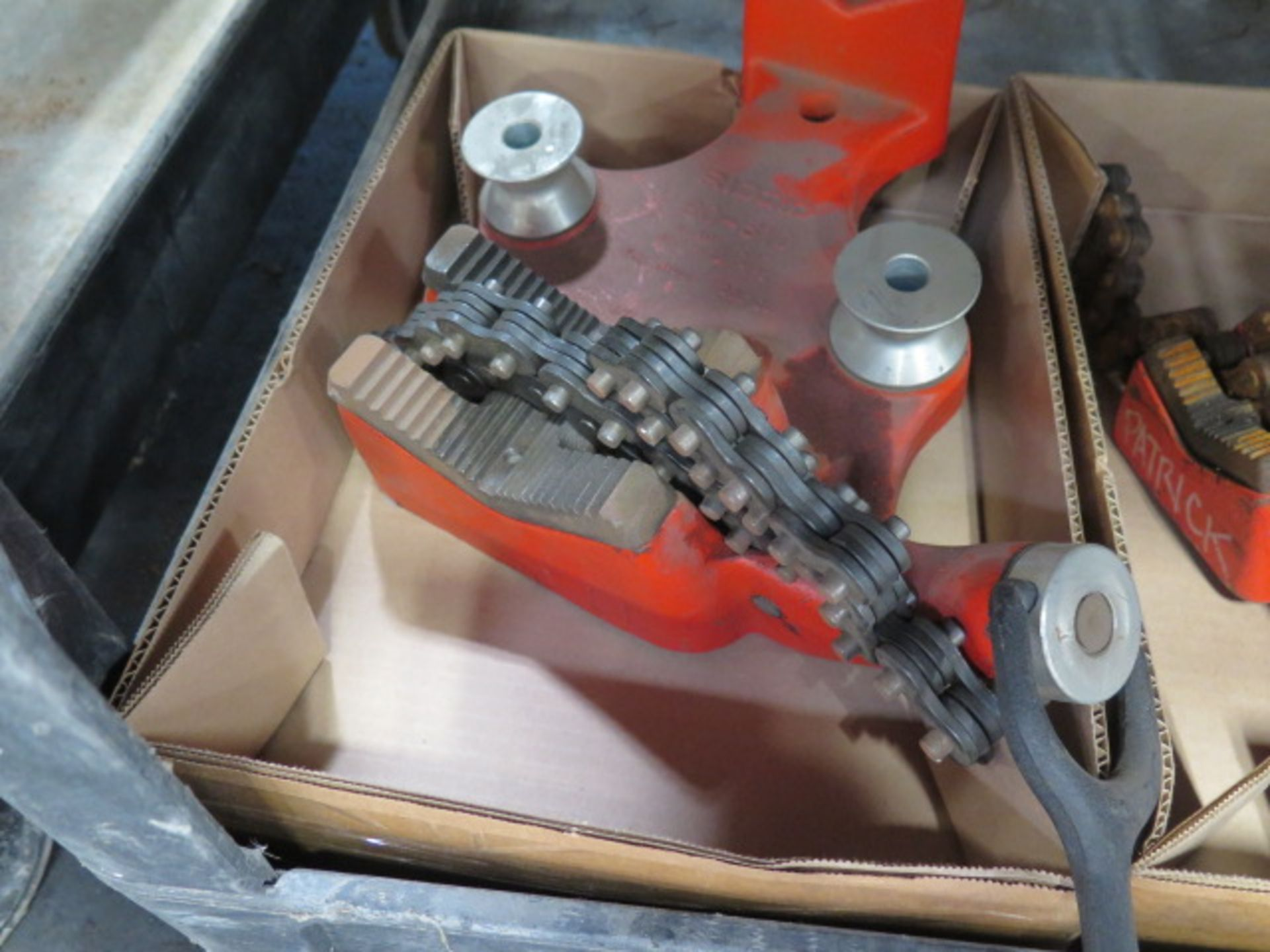 Ridgid Pipe Vises (2) (SOLD AS-IS - NO WARRANTY) - Image 2 of 3