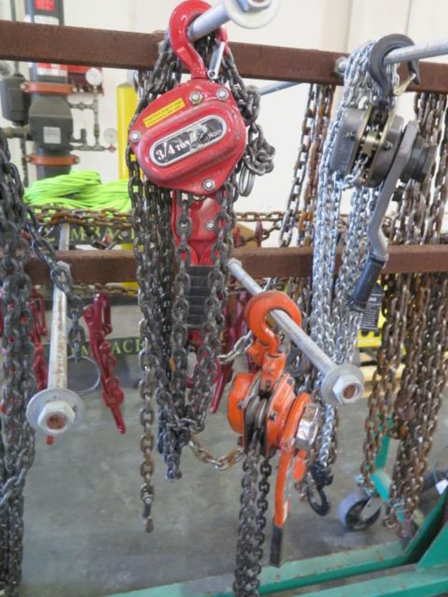 Chain Come-Alongs (4), Chain Tensioners (6) Chain and Cart (SOLD AS-IS - NO WARRANTY) - Image 3 of 11