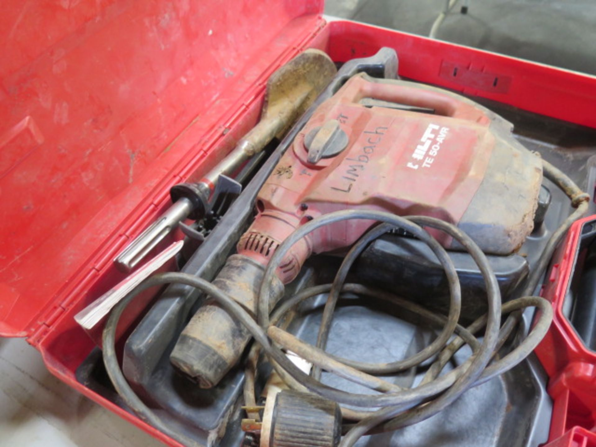 Hilti TE 50-AVR Hammer Drill (SOLD AS-IS - NO WARRANTY) - Image 2 of 6