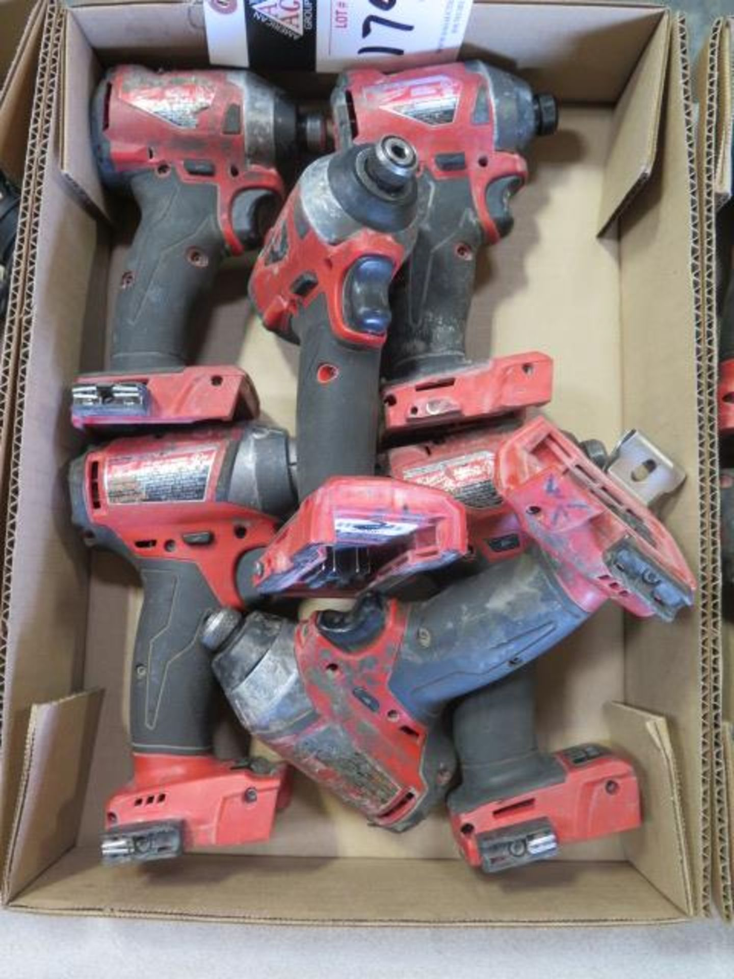 """Milwaukee 18 Volt 1/4"""" Nut Drivers (6) (SOLD AS-IS - NO WARRANTY) - Image 2 of 4"""