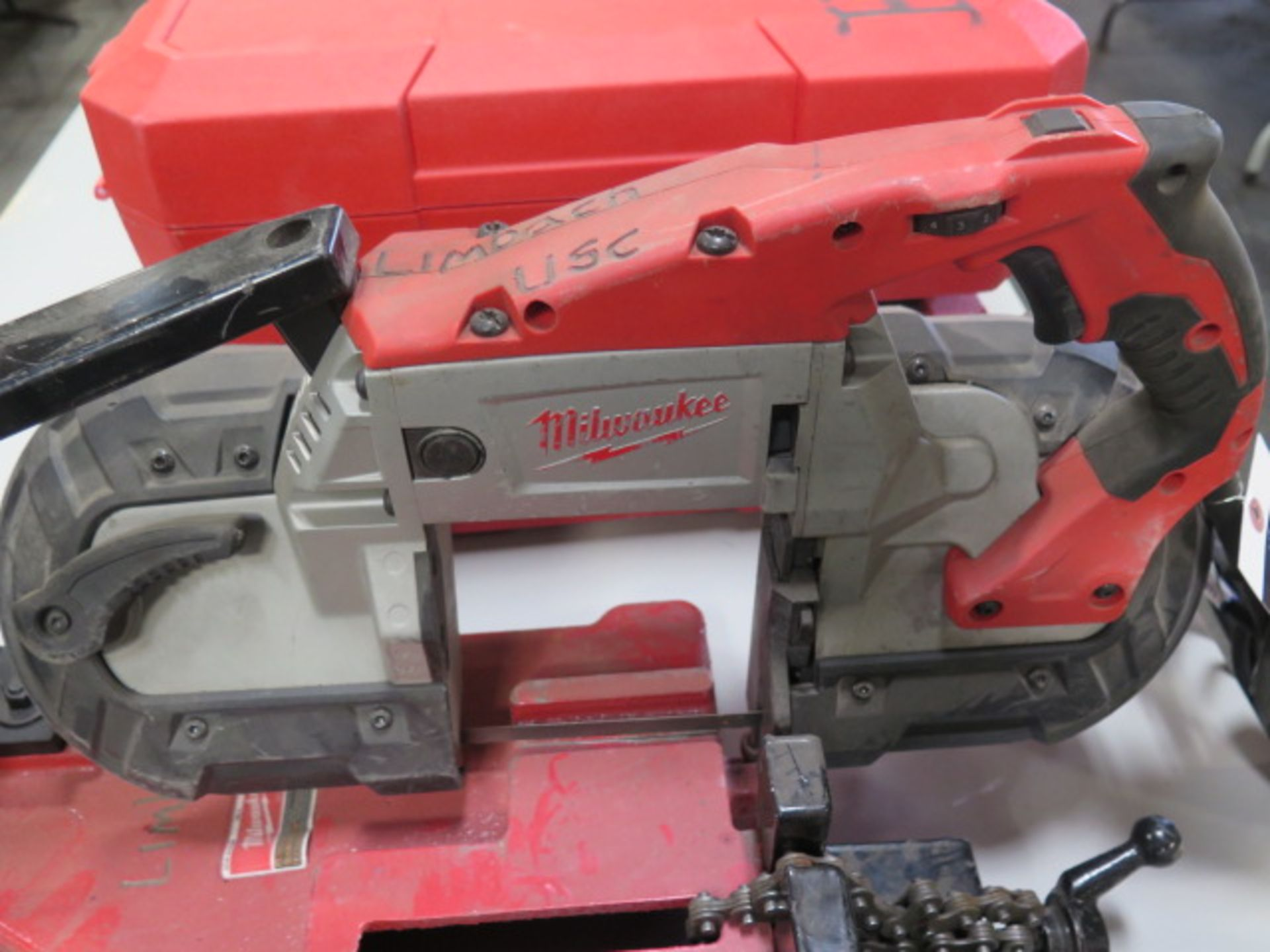 Milwaukee Deep Cut Electric Band Saw w/ Saw Stand (SOLD AS-IS - NO WARRANTY) - Image 3 of 5
