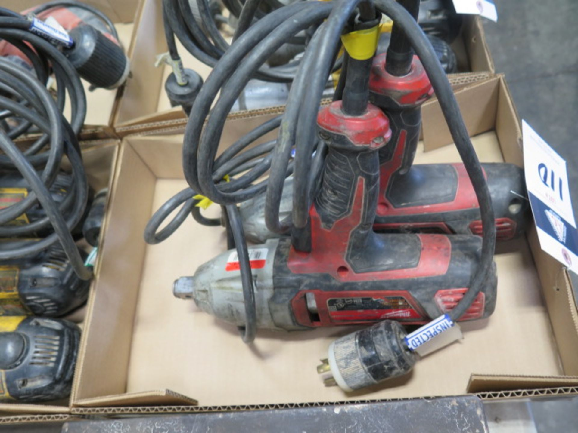 """Milwaukee 3/4"""" Electric Impacts (2) (SOLD AS-IS - NO WARRANTY) - Image 2 of 5"""
