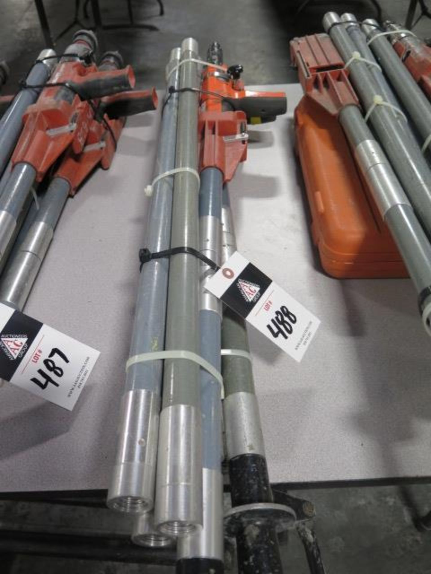 Ramset Cobra Powder Actuated Guns (2) w/ Extension Sets (SOLD AS-IS - NO WARRANTY)