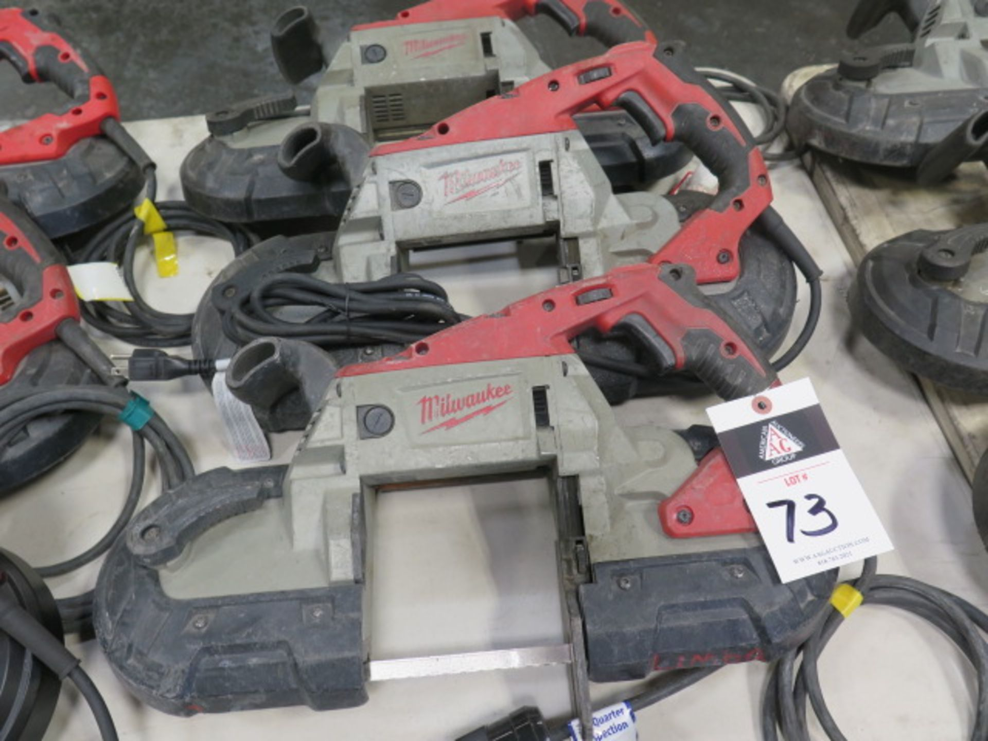 Milwaukee Deep Cut Band Saws (3) (SOLD AS-IS - NO WARRANTY) - Image 2 of 6