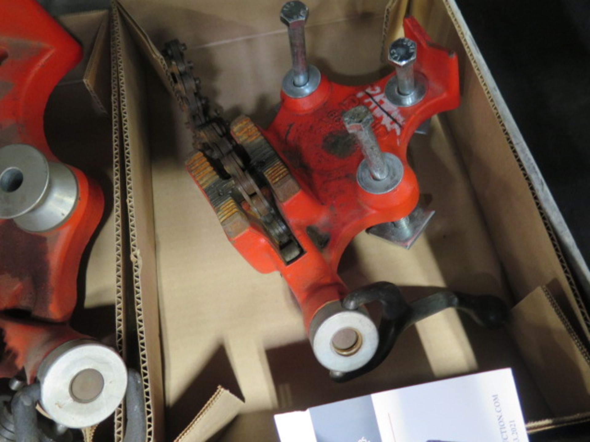 Ridgid Pipe Vises (2) (SOLD AS-IS - NO WARRANTY) - Image 3 of 3