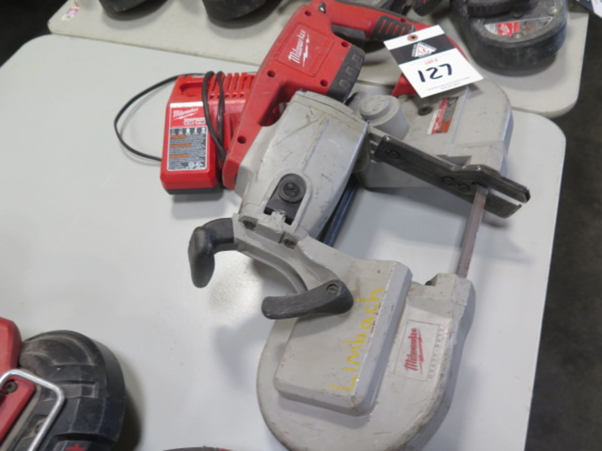Milwaukee 18 Volt Deep Cut Portable Band Saw (SOLD AS-IS - NO WARRANTY) - Image 2 of 5