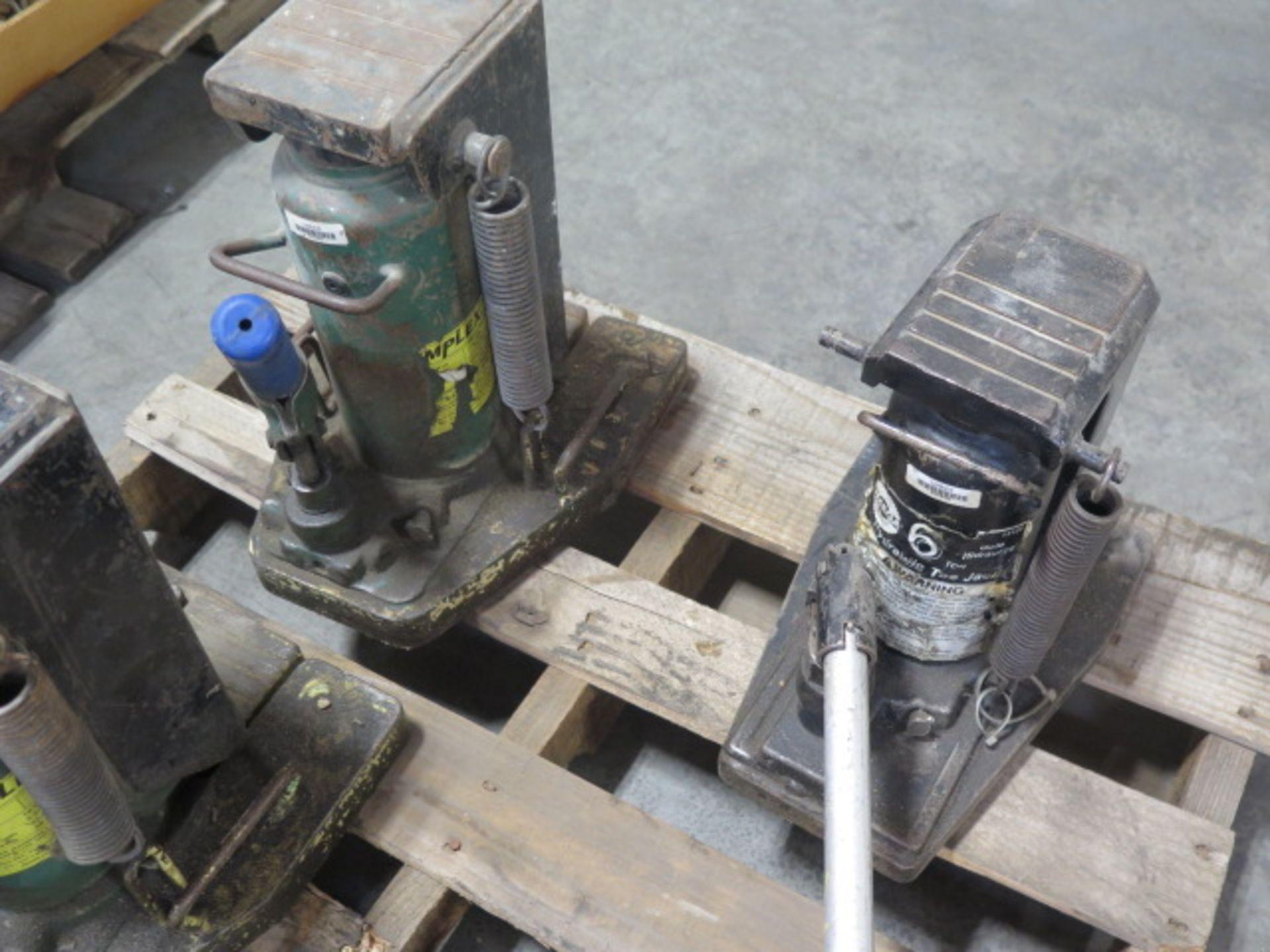 Simplex 10 Ton Hydrauic Machinery Jacks (2) and Omega 6 Ton Hydraulic Machinery Jack (SOLD AS-IS - - Image 6 of 7