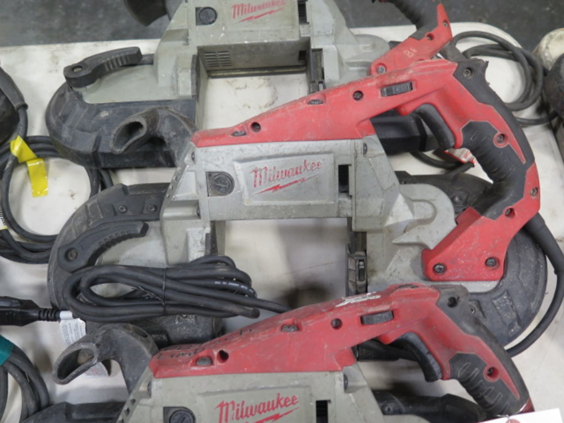 Milwaukee Deep Cut Band Saws (3) (SOLD AS-IS - NO WARRANTY) - Image 4 of 6