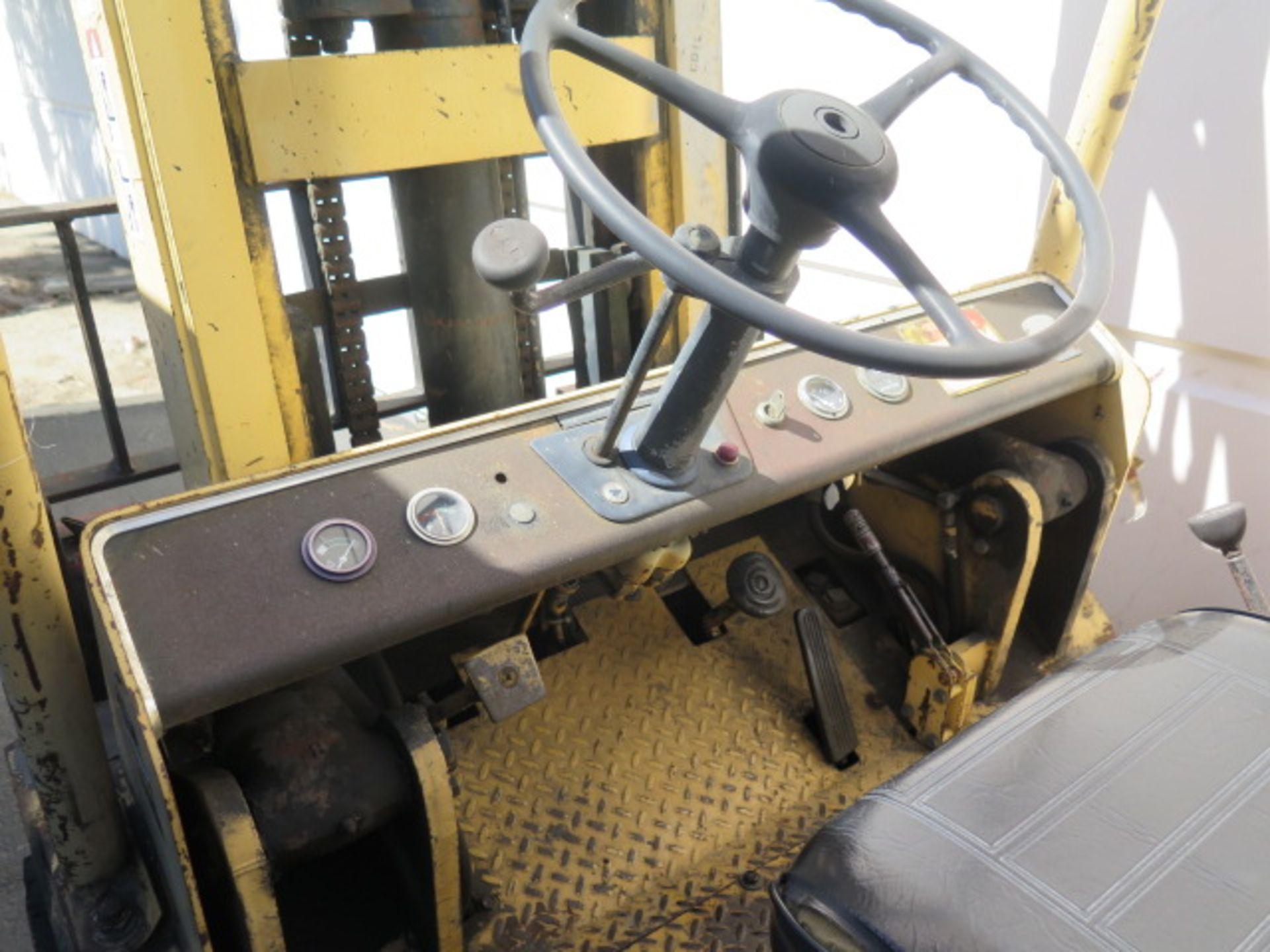 "Hyster S125A 12,500 Lb Cap LPG Forklift s/n A024DC4389A w/ 2-Stage Mast, 129"" Lift Height, 2-Speed T - Image 6 of 14"