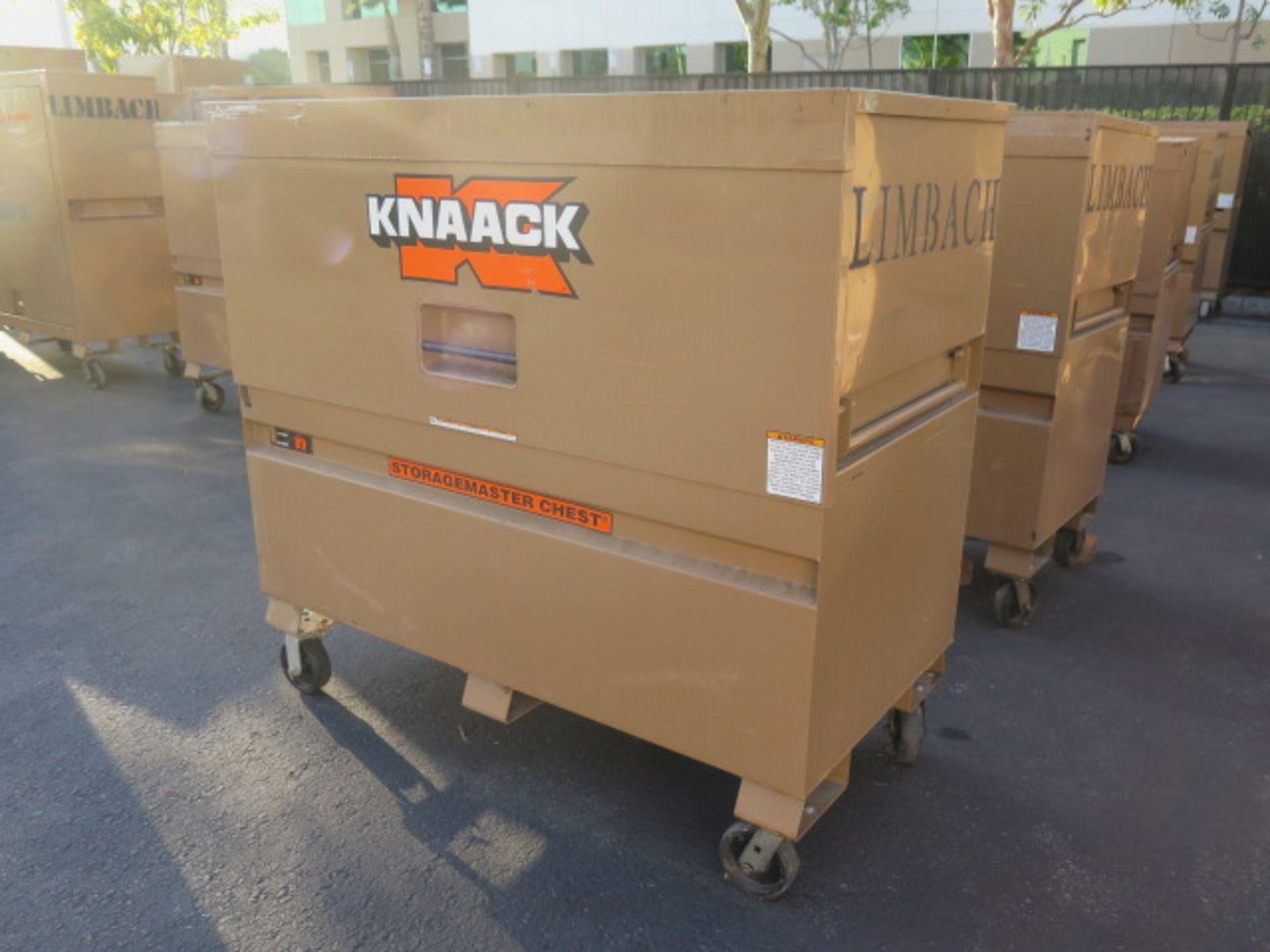 Knaack mdl. 89 Storagemaster Rolling Job Box w/ Come-Alongs (SOLD AS-IS - NO WARRANTY) - Image 2 of 12