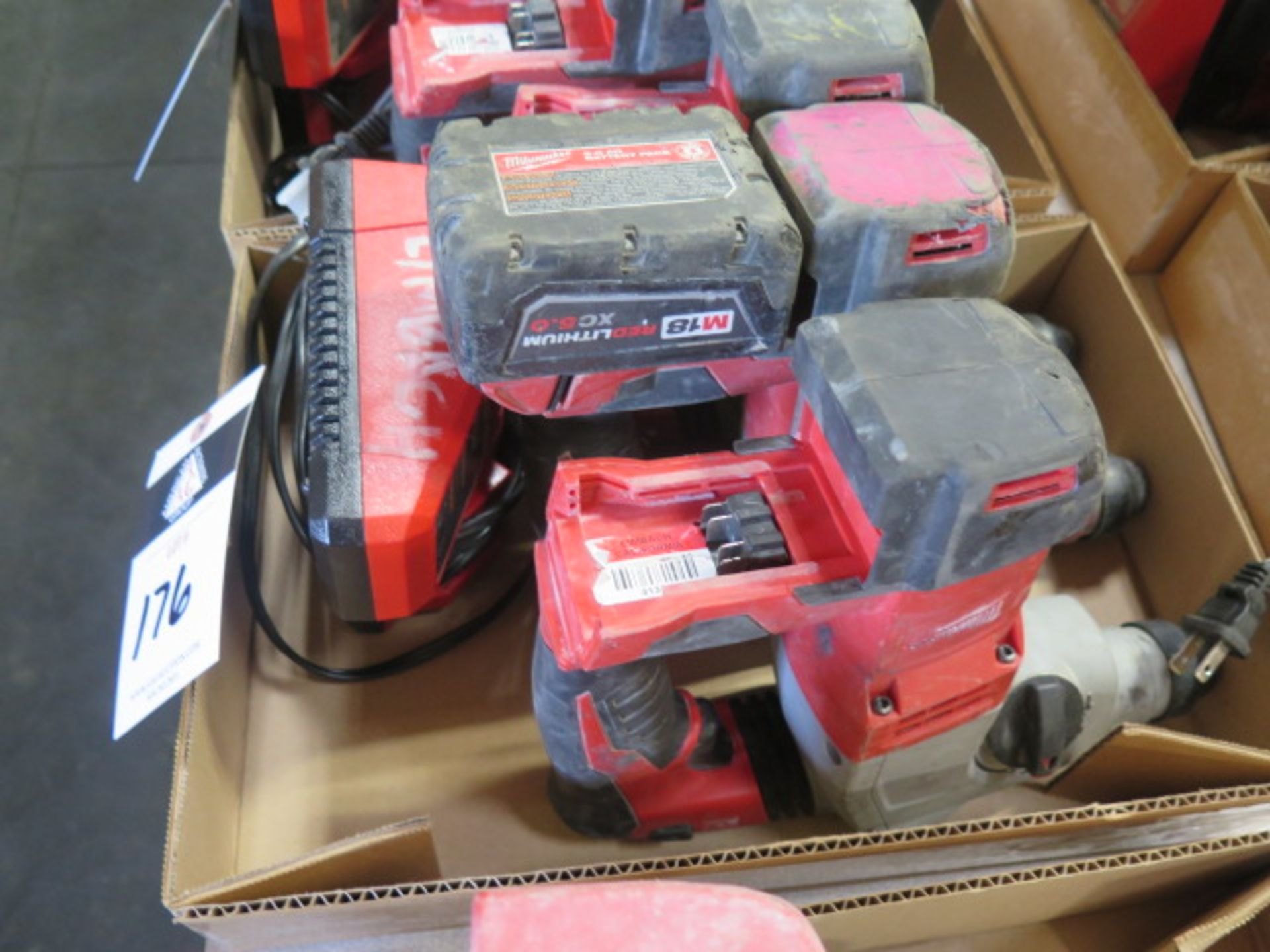 Milwaukee 18 Volt Rotary Hammers (3) (SOLD AS-IS - NO WARRANTY) - Image 2 of 5