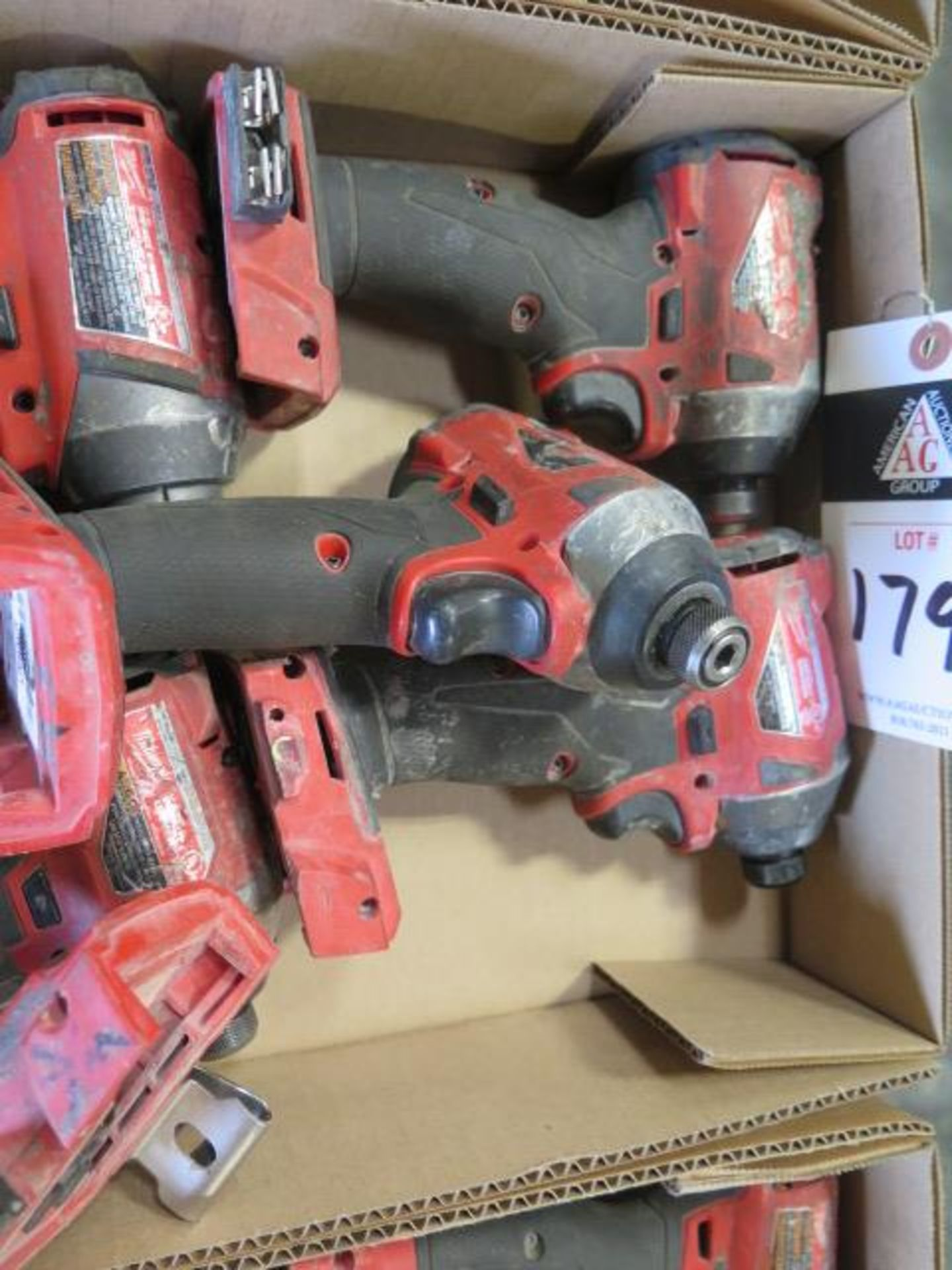 """Milwaukee 18 Volt 1/4"""" Nut Drivers (6) (SOLD AS-IS - NO WARRANTY) - Image 4 of 4"""
