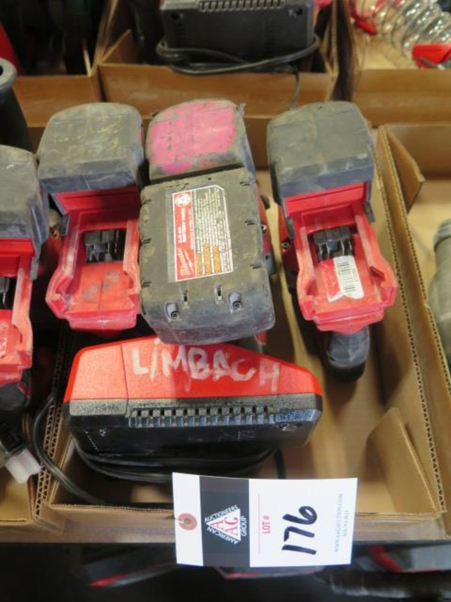 Milwaukee 18 Volt Rotary Hammers (3) (SOLD AS-IS - NO WARRANTY)