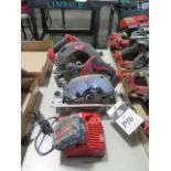 Milwaukee 18 Volt Circular Saws (2) (SOLD AS-IS - NO WARRANTY)