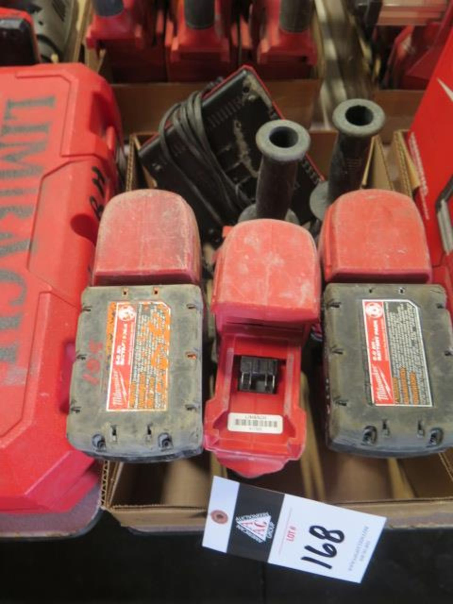 """Milwaukee 18 Volt 1"""" Rotary Hanners (3) (SOLD AS-IS - NO WARRANTY)"""