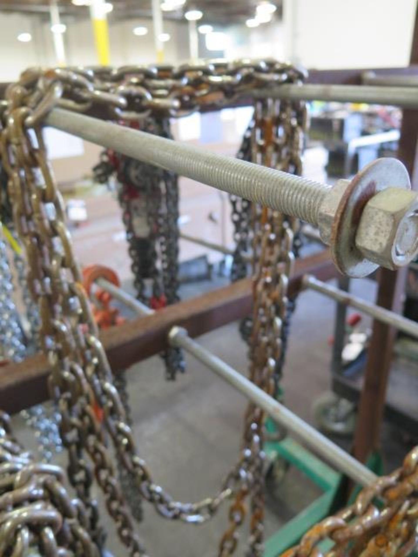 Chain Come-Alongs (4), Chain Tensioners (6) Chain and Cart (SOLD AS-IS - NO WARRANTY) - Image 11 of 11