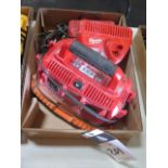 Milwaukee Battery Chargers (SOLD AS-IS - NO WARRANTY)