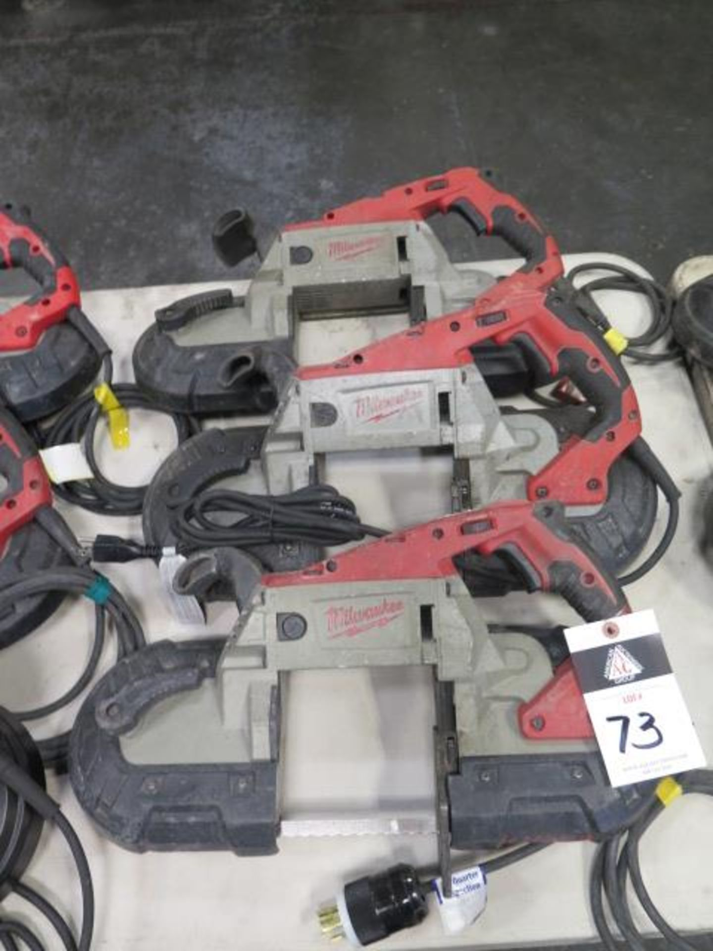 Milwaukee Deep Cut Band Saws (3) (SOLD AS-IS - NO WARRANTY)