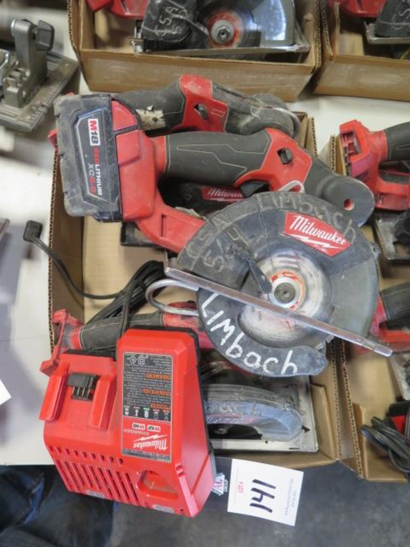 Milwaukee 18 Volt Circular Saws (3) (SOLD AS-IS - NO WARRANTY) - Image 2 of 5