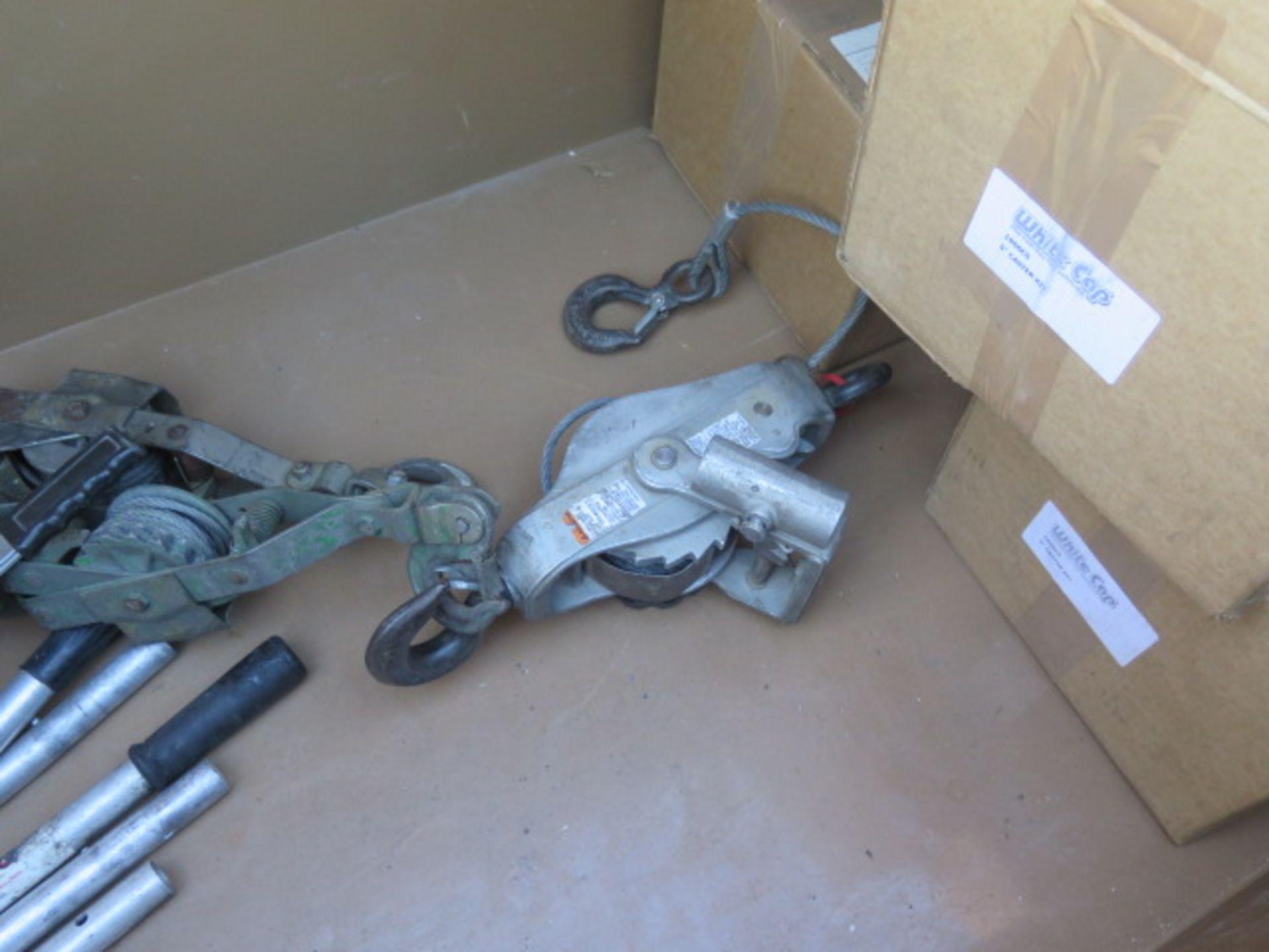 Knaack mdl. 89 Storagemaster Rolling Job Box w/ Come-Alongs (SOLD AS-IS - NO WARRANTY) - Image 9 of 12