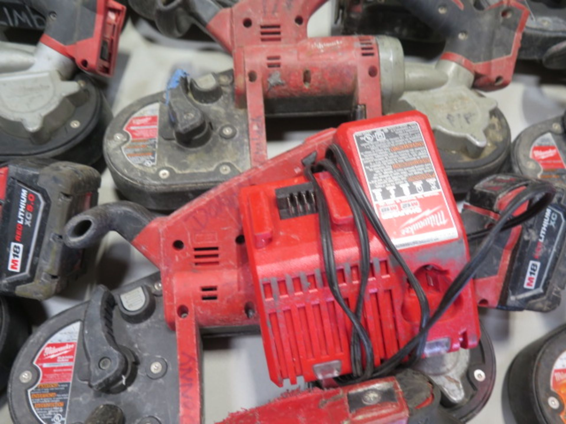 Milwaukee 18 Volt Compact Portable Band Saws (4) (SOLD AS-IS - NO WARRANTY) - Image 5 of 7
