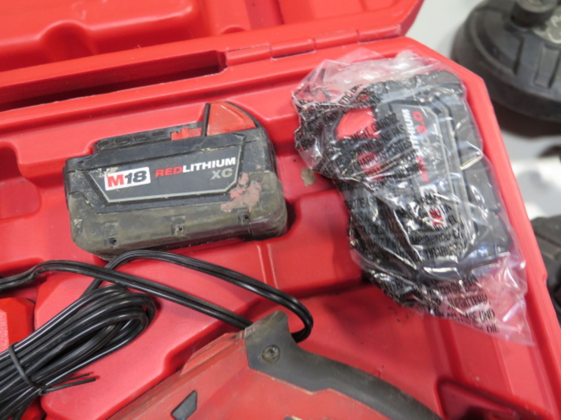 Milwaukee 18 Volt Compact Portable Band Saw Sets (2) (SOLD AS-IS - NO WARRANTY) - Image 5 of 10