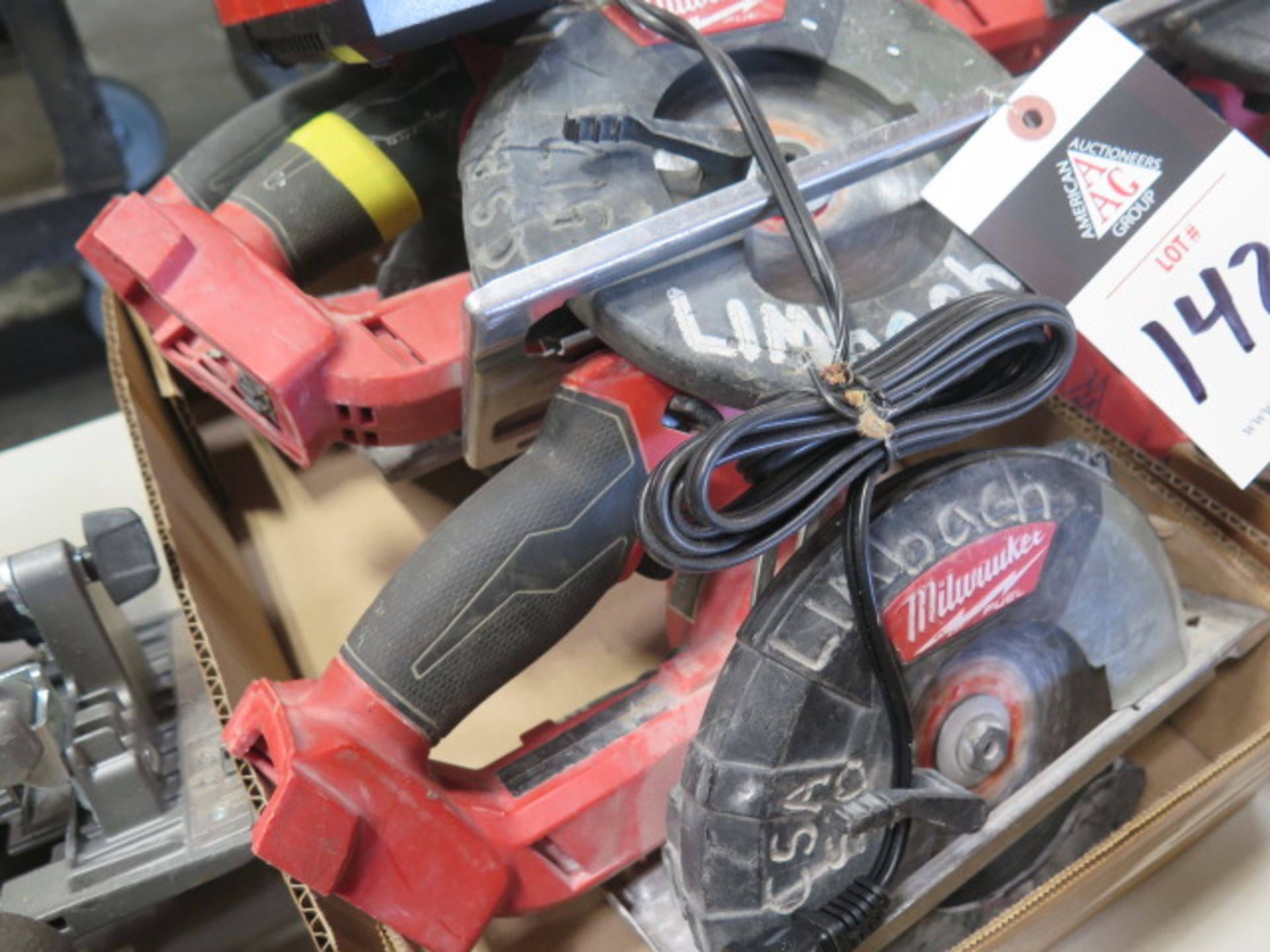 Milwaukee 18 Volt Circular Saws (3) (SOLD AS-IS - NO WARRANTY) - Image 3 of 5