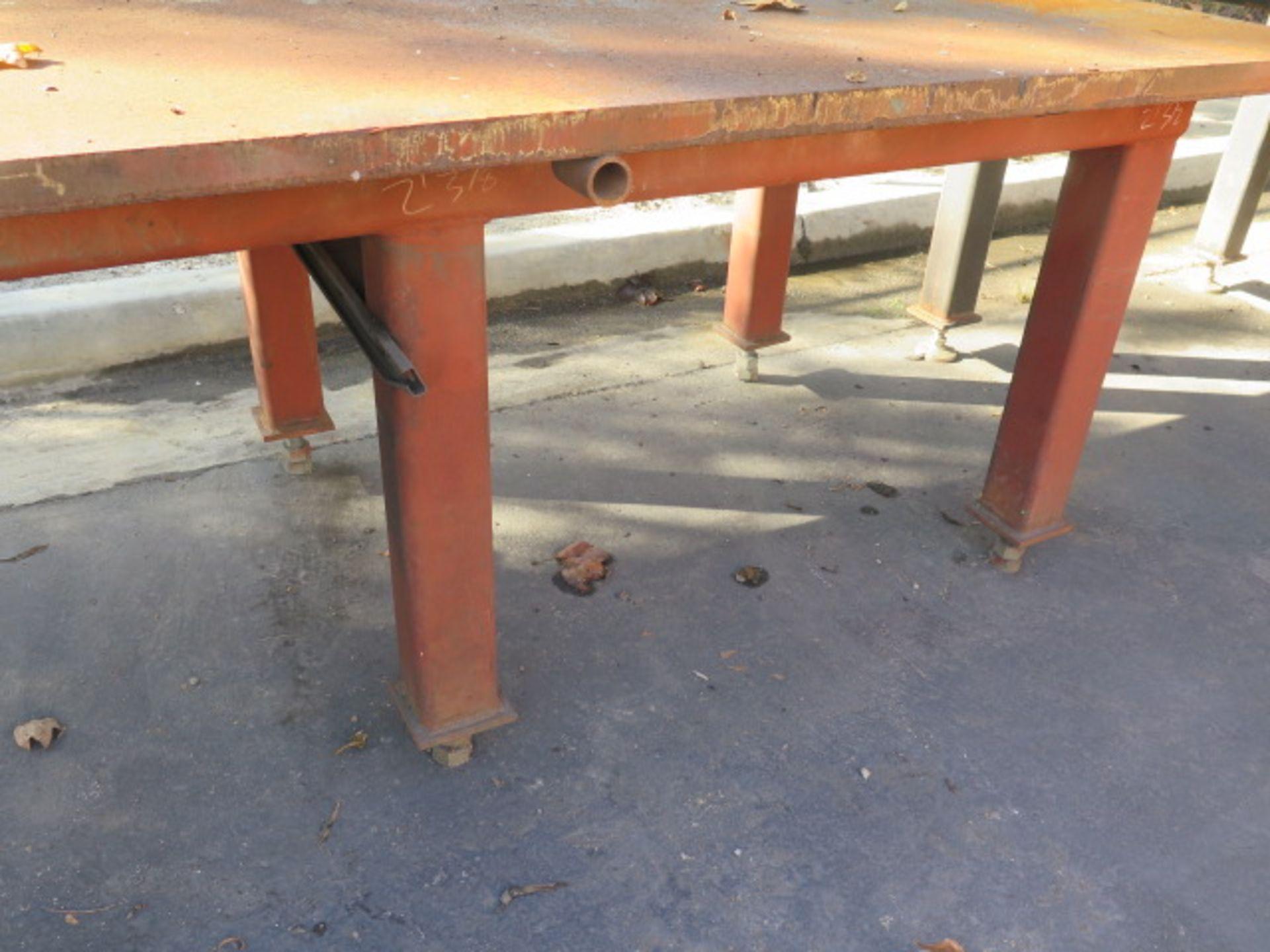 "4' x 8' x 1 1/2"" Steel Welding Table (SOLD AS-IS - NO WARRANTY) - Image 5 of 5"