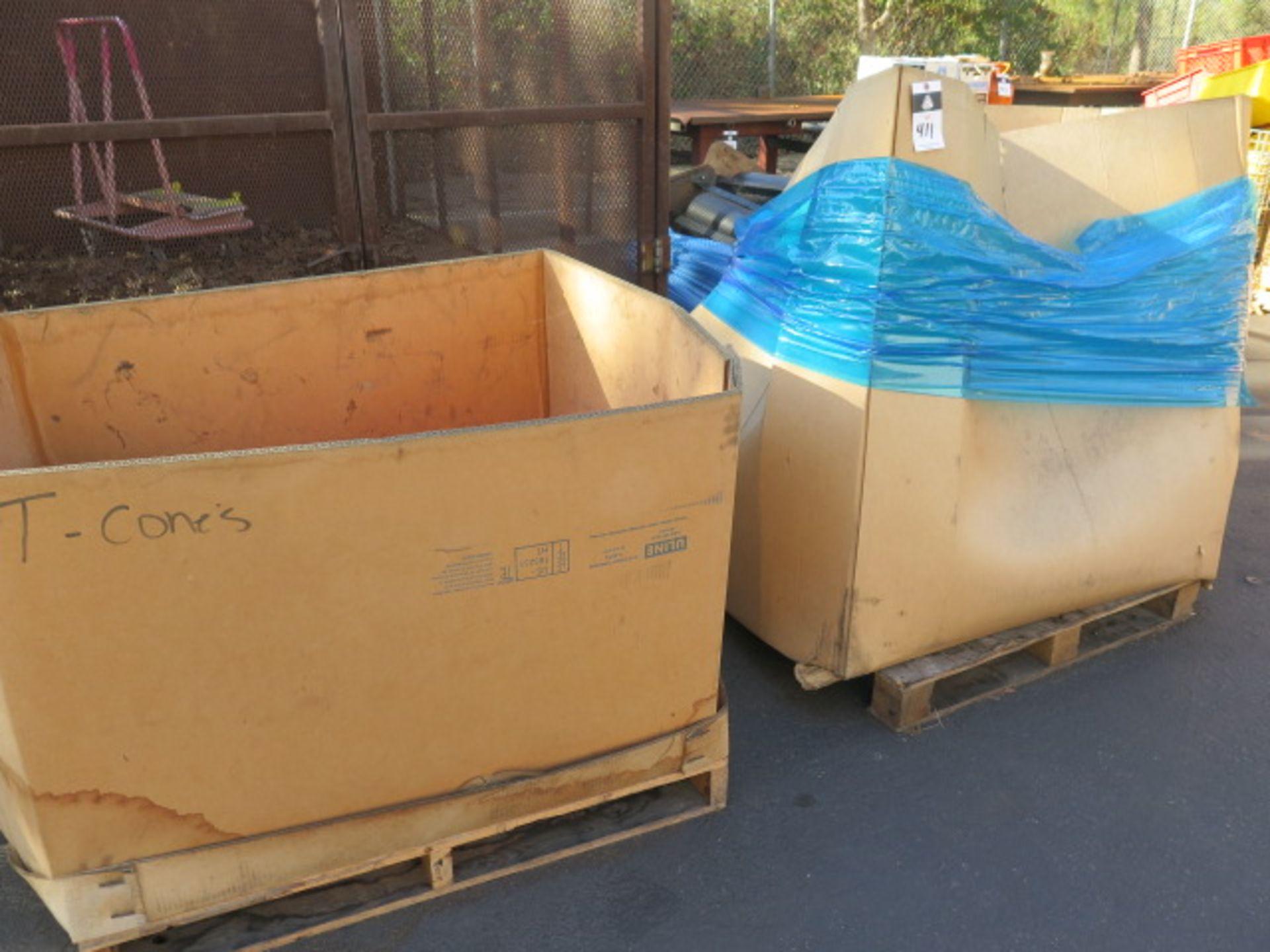Safety Cones (2 Crates) (SOLD AS-IS - NO WARRANTY)