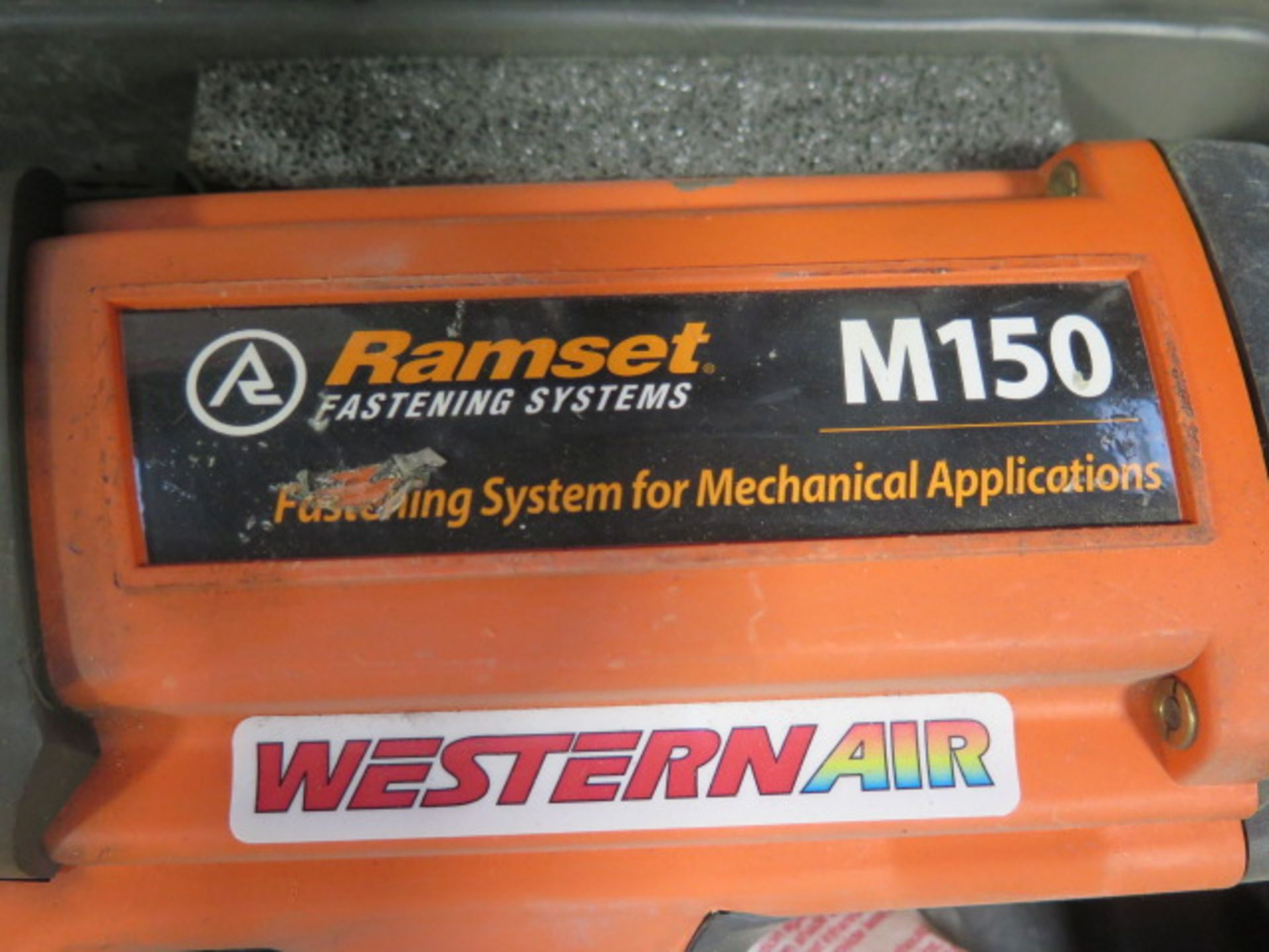 Ramset mdl. M150 Gss Powered Piston Type Fastening Gun w/ Magazine Feed (SOLD AS-IS - NO WARRANTY) - Image 3 of 5