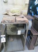 Heating Table w/ Fire Bricks and Blower (SOLD AS-IS - NO WARRANTY)
