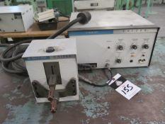 Unitek Micro Spot Welder w/ 1-142-01 Power Source and Table (SOLD AS-IS - NO WARRANTY)