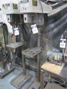 "Delta 15"" Pedestal Drill Press (SOLD AS-IS - NO WARRANTY)"
