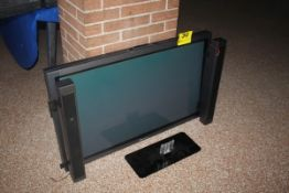 "PIONEER 40"" FLAT SCREEN TELEVISION, WITH SPEAKERS AND STAND"