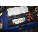 RAMSET MODEL 70902466 POWDER FASTENING TOOL WITH CASE