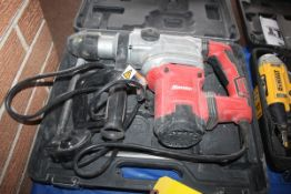 BAUER MODEL 1643E-B ROTARY HAMMER DRILL WITH CASE