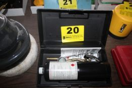 BERNZ-O-MATIC TORCH, TANK & TOOLS, WITH CASE