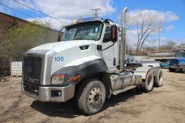 2013 CAT CT660S SBA 6X4 DAY CAB T/A TRUCK TRACTOR VIN: 1HSJGTKR5DJ115195 (2013) MAXXFORCE CT-13 12.