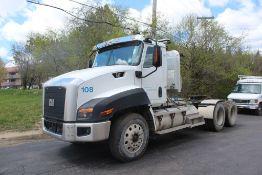 2012 CAT CT660S SBA 6X4 DAY CAB T/A TRUCK TRACTOR VIN: 1HSJGTKRXCJ651106 (2012) MAXXFORCE CT-13 12.