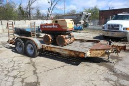 1993 CRONKITE 102-IN. X 19-FT. T/A EQUIPMENT TRAILER VIN: 473261927P1110113 (1993) 102-IN. X 19-