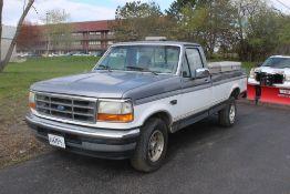1995 FORD F-150 XLT STANDARD CAB PICKUP TRUCK VIN: 1FTEF15N0SNB74431 (1995) 5.0L V8 OHV 16V, A/T,