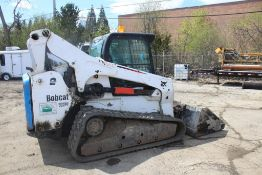 2014 BOBCAT T870 2-SPEED COMPACT TRACK LOADER S/N: AN8L12647 (2014) 84-IN. UNIVERSAL BUCKET, AUX.