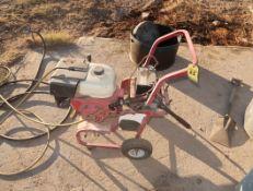 GAS POWERED 9HP PRESSURE WASHER