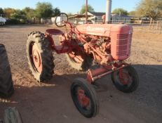 IH FARMALL TRACTOR V, WIDE FRONT, SN. B15035