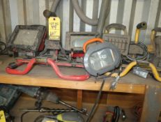 LOT; ASST WORK LIGHTS