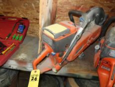 HUSQVARNA GAS CONCRETE SAW